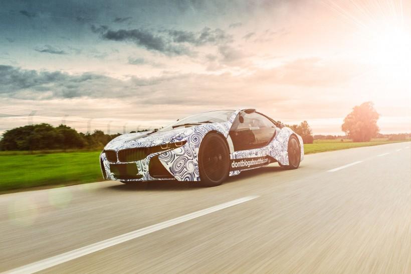 Werbefotos Prototyp BMW i8 München