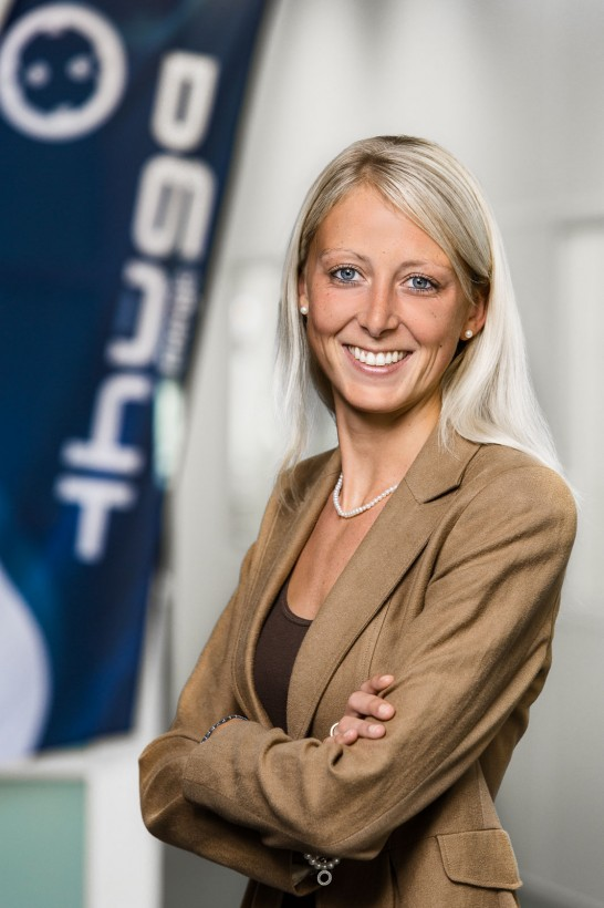 Businessporträts Angela Wahl (Thüga Energie, Schifferstadt)