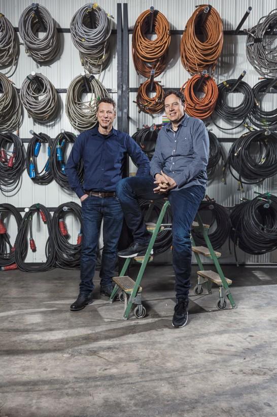 Porträts Editorial Geschäftsführung lunatx Stefan Howe & Frank Lohse Düsseldorf