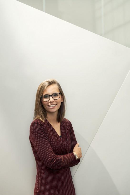 Porträts Editorial Deutsche Bank Generation-Y-Team