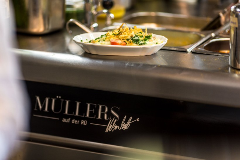 Werbefotos Müllers auf der Rü Essen