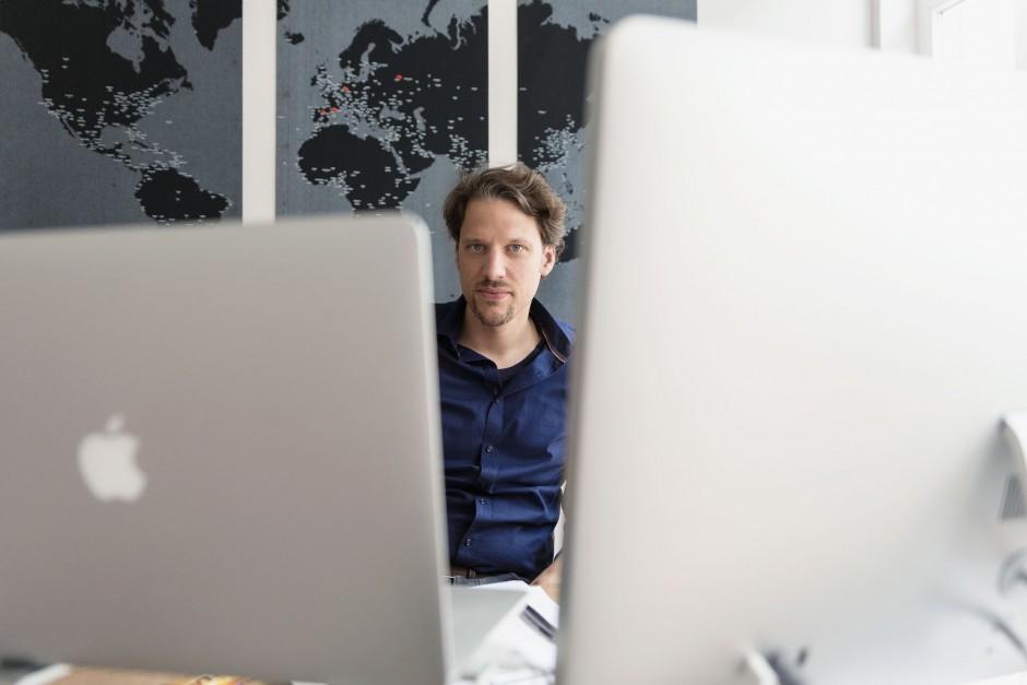 Businessporträts Jens Klingelhöfer (Geschäftsführer Bookwire, Frankfurt am Main)
