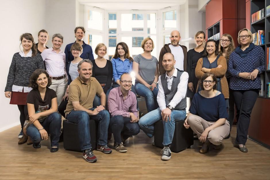 Teamfoto Bookwire Frankfurt am Main