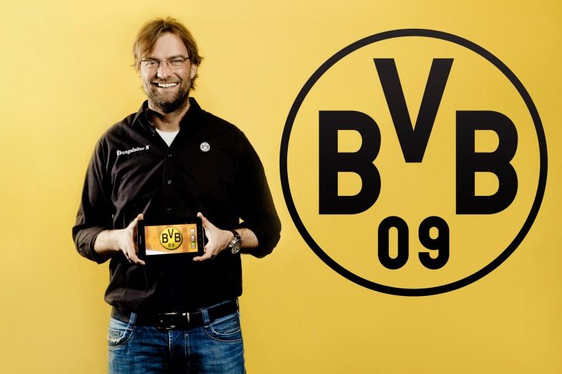 Werbefotos Jürgen Klopp Dortmund