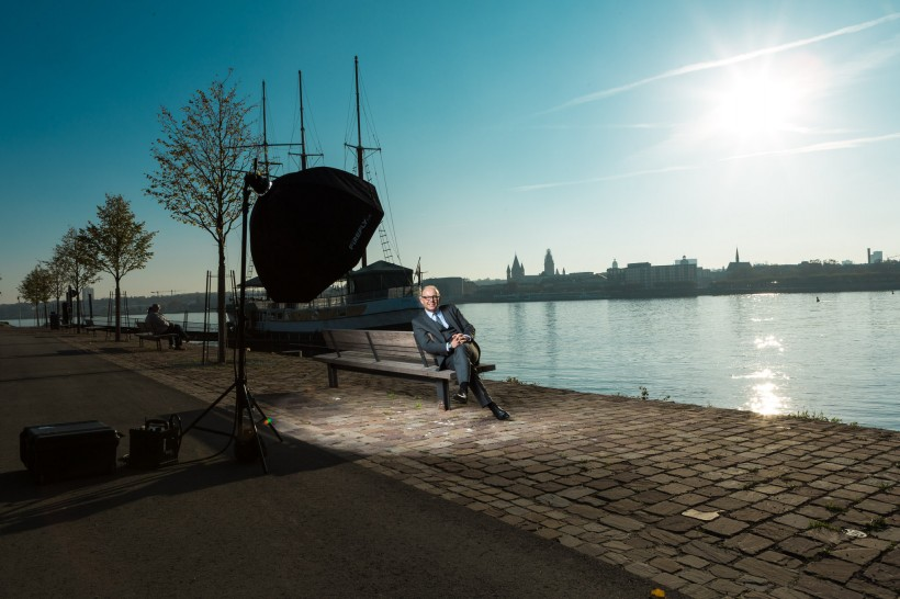 Making of Businessporträts Markus Pietz (Mainz)