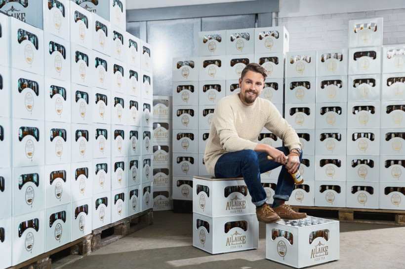 Businessporträts Nils Beierlein (Geschäftsführer AiLaike, Mainz)