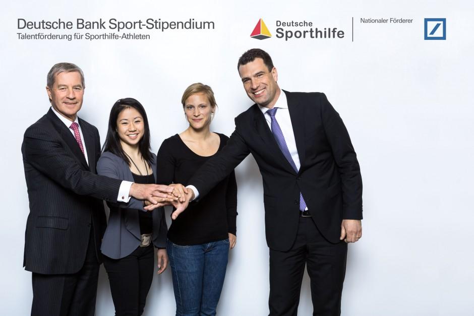 Gruppenfoto Sport-Stipendium