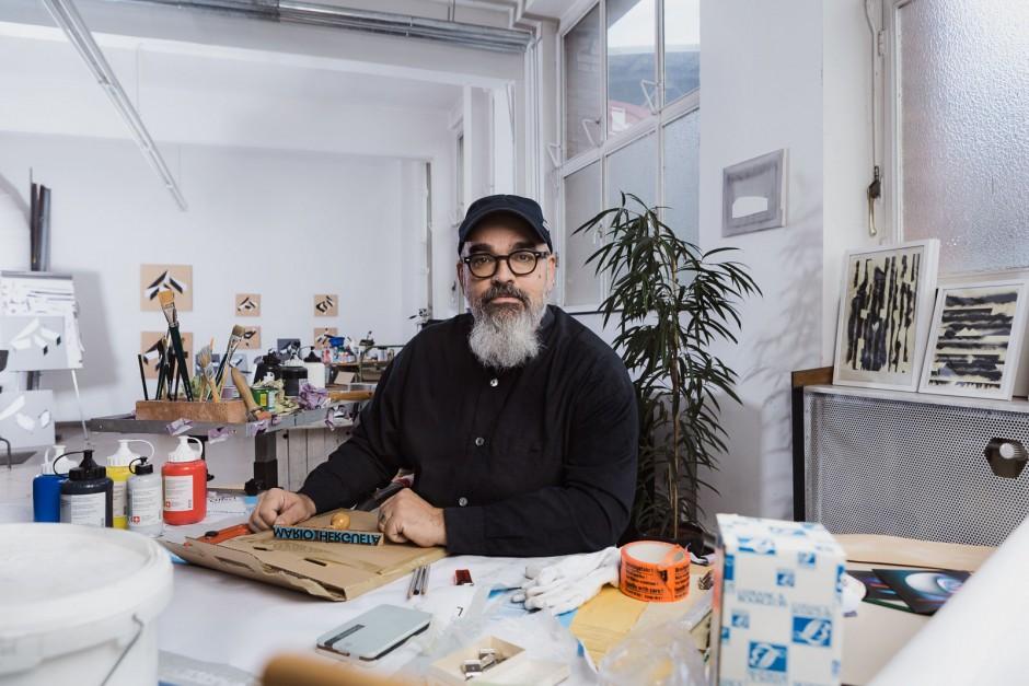 Porträts Mario Hergueta (Künstler, Rüsselsheim)