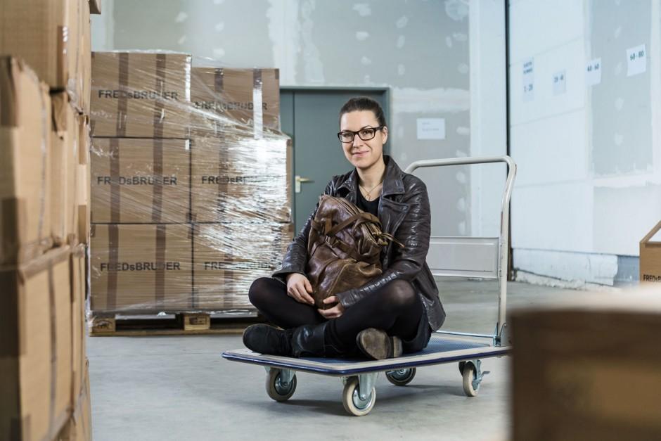 Businessporträts Constanze Alef (Geschäftsführerin FredsBruder, Dinslaken)