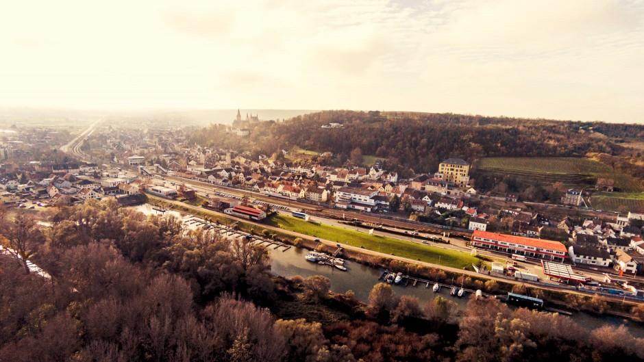 Luftbild Oppenheim