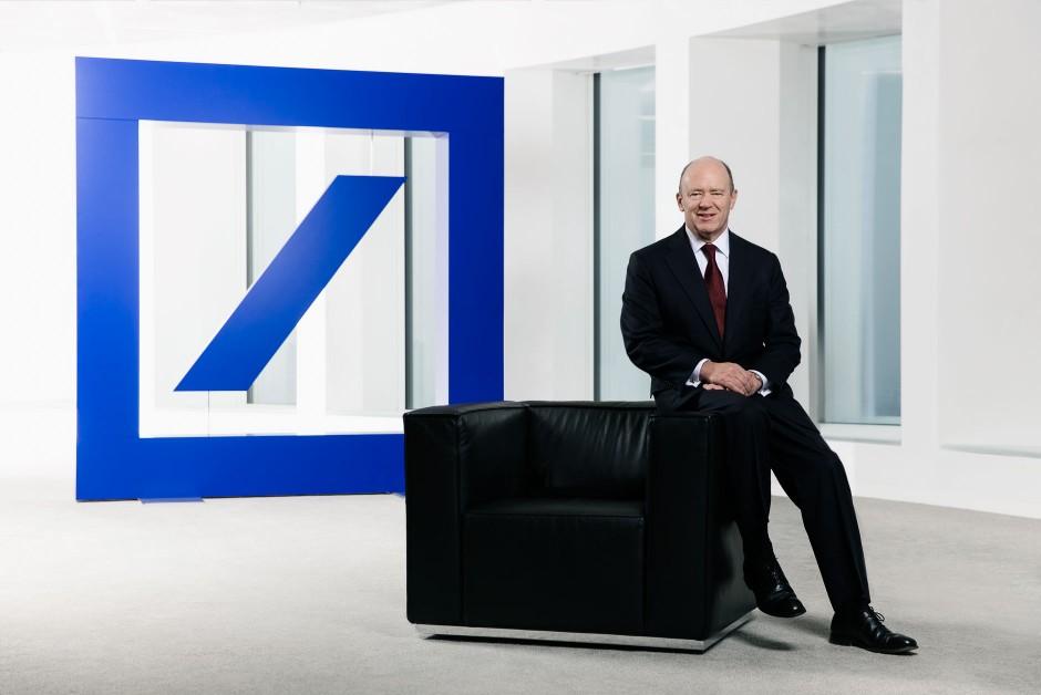 Businessporträts John Cryan (Vorstand Deutsche Bank AG, Frankfurt am Main)