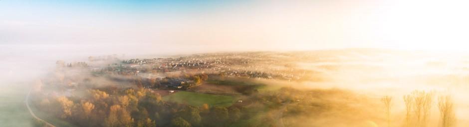 Luftbild Trebur