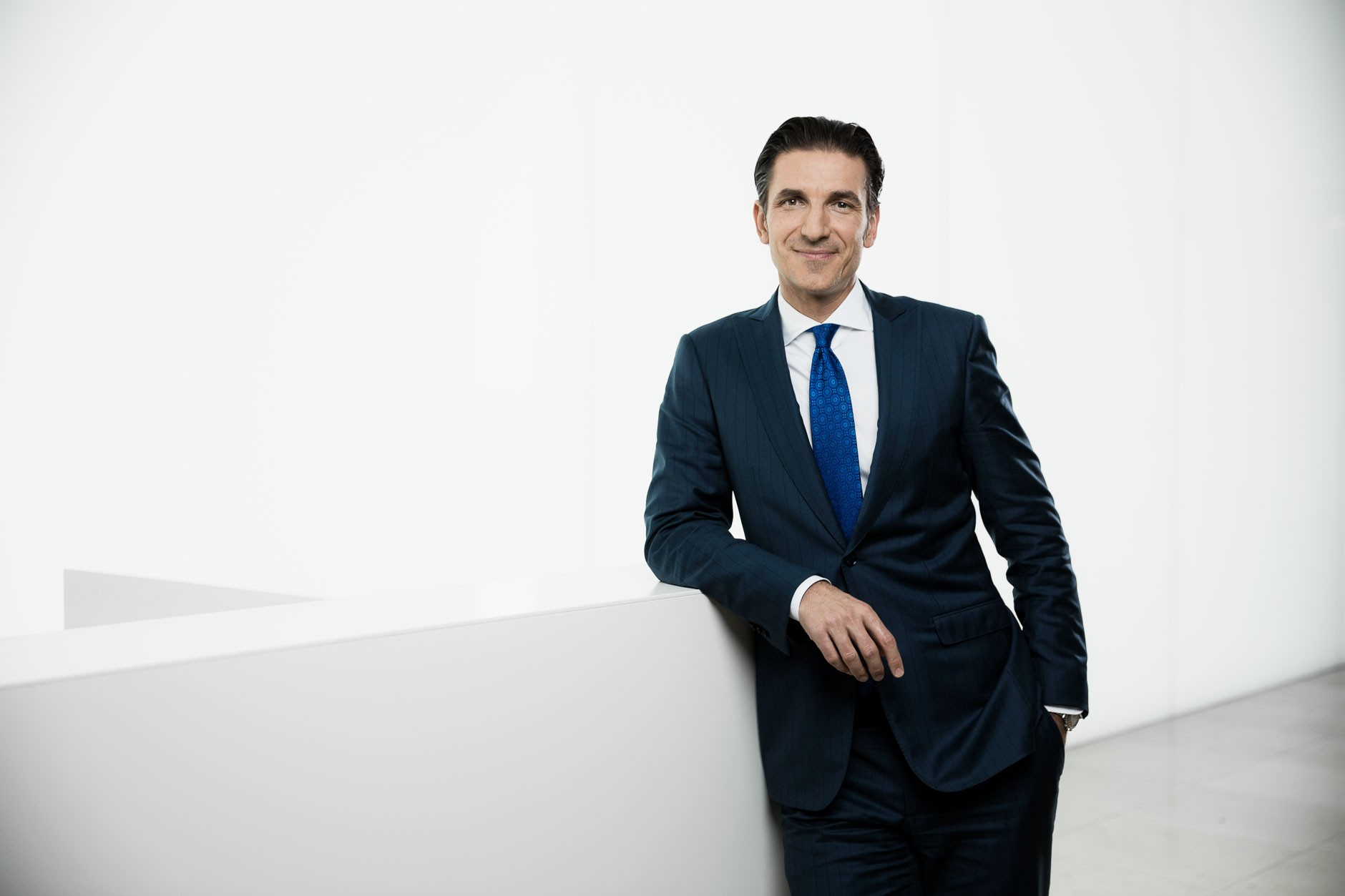 Businessporträt Goran Baric, Geschäftsführer Page Group, Frankfurt am Main