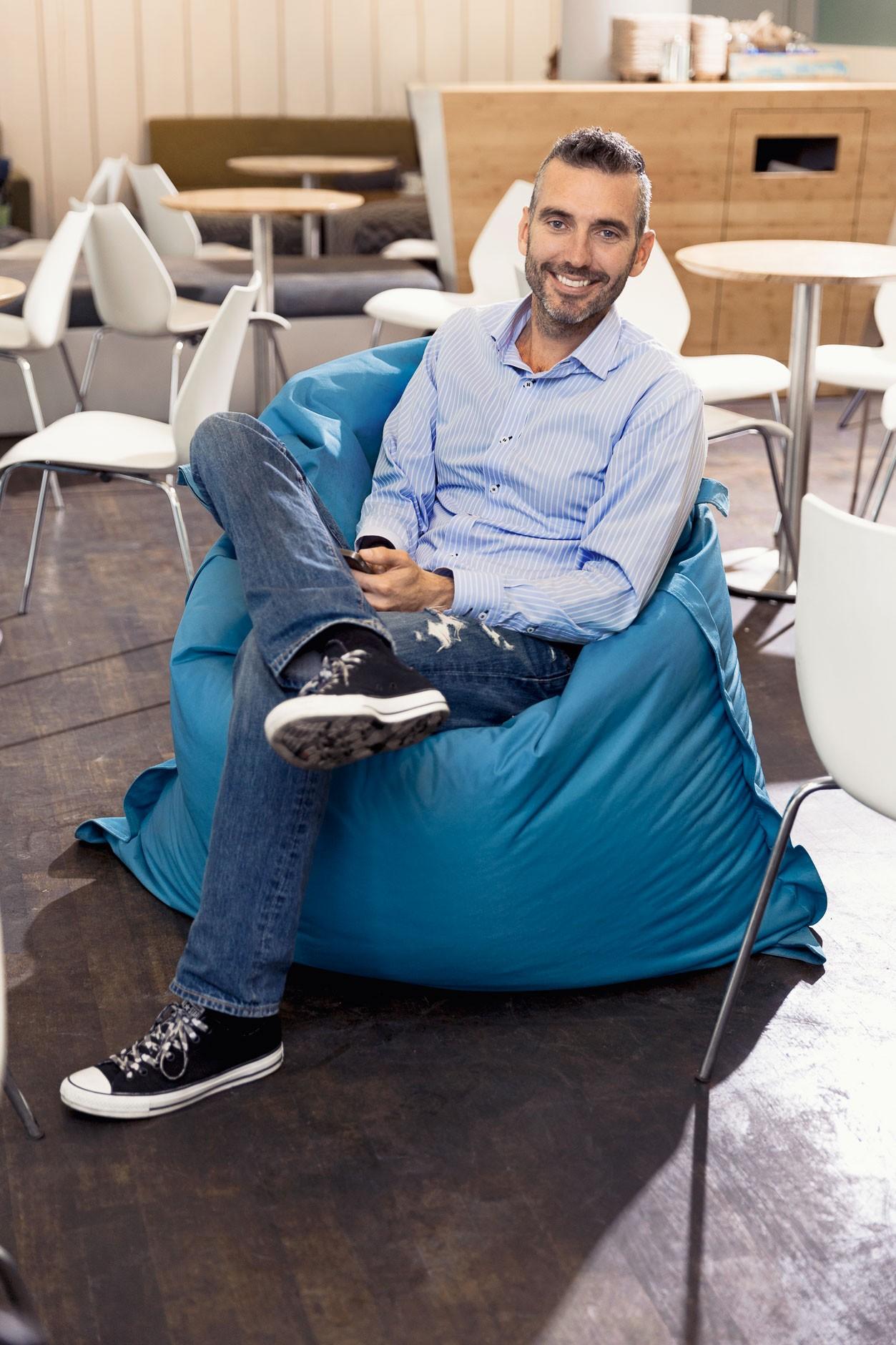 Businessporträt Dirk Röder, Geschäftsführer OpenTabs, München