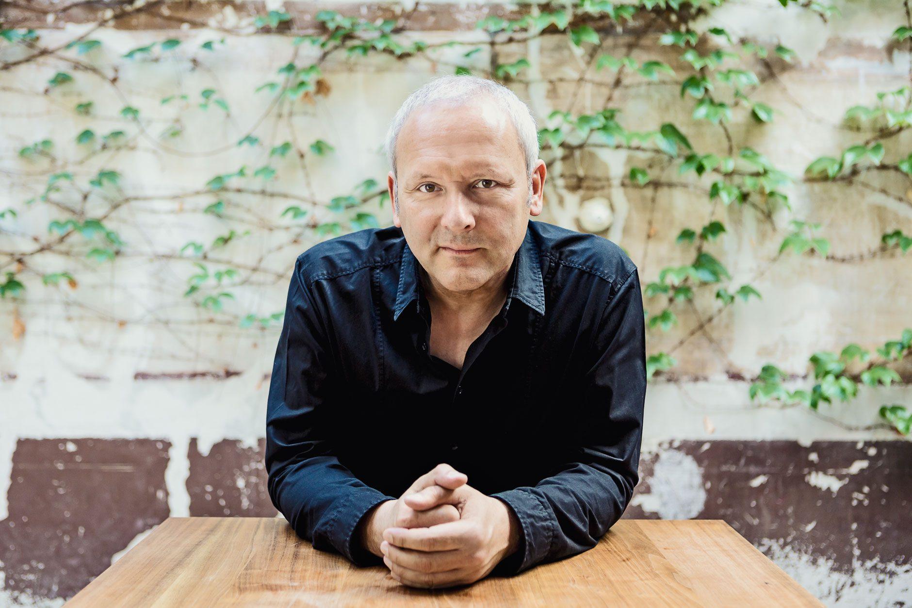 Businessporträt Richard Geppert Komponist, Lörrach