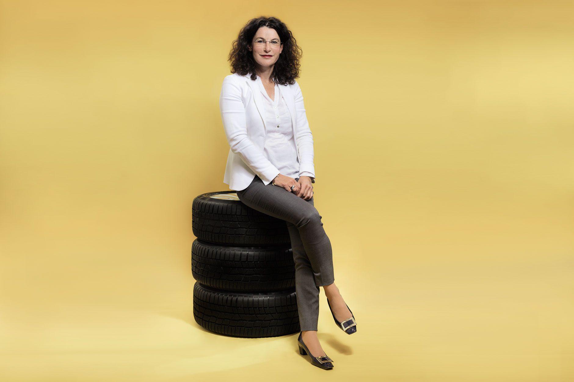 Businessporträt Tina Müller, Vorstand Marketing Adam Opel AG, Rüsselsheim am Main