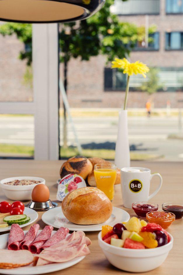 B&B Hotels Frühstück