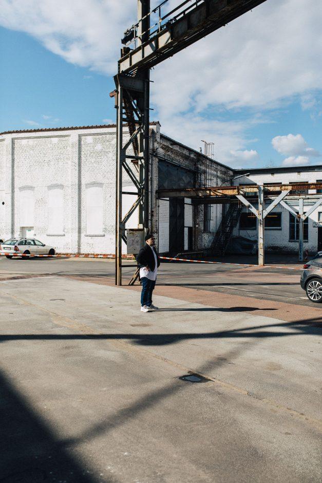 Making of Pressefotos Moses Pelham für Opel