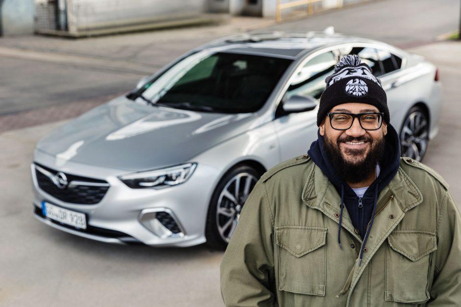 Pressefotos Moses Pelham für Opel