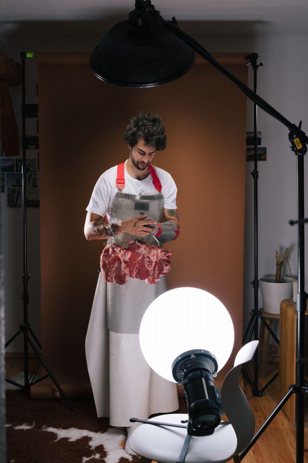 Making of: Rechtschreibung mangelhaft: Stakeholder / Steakholder