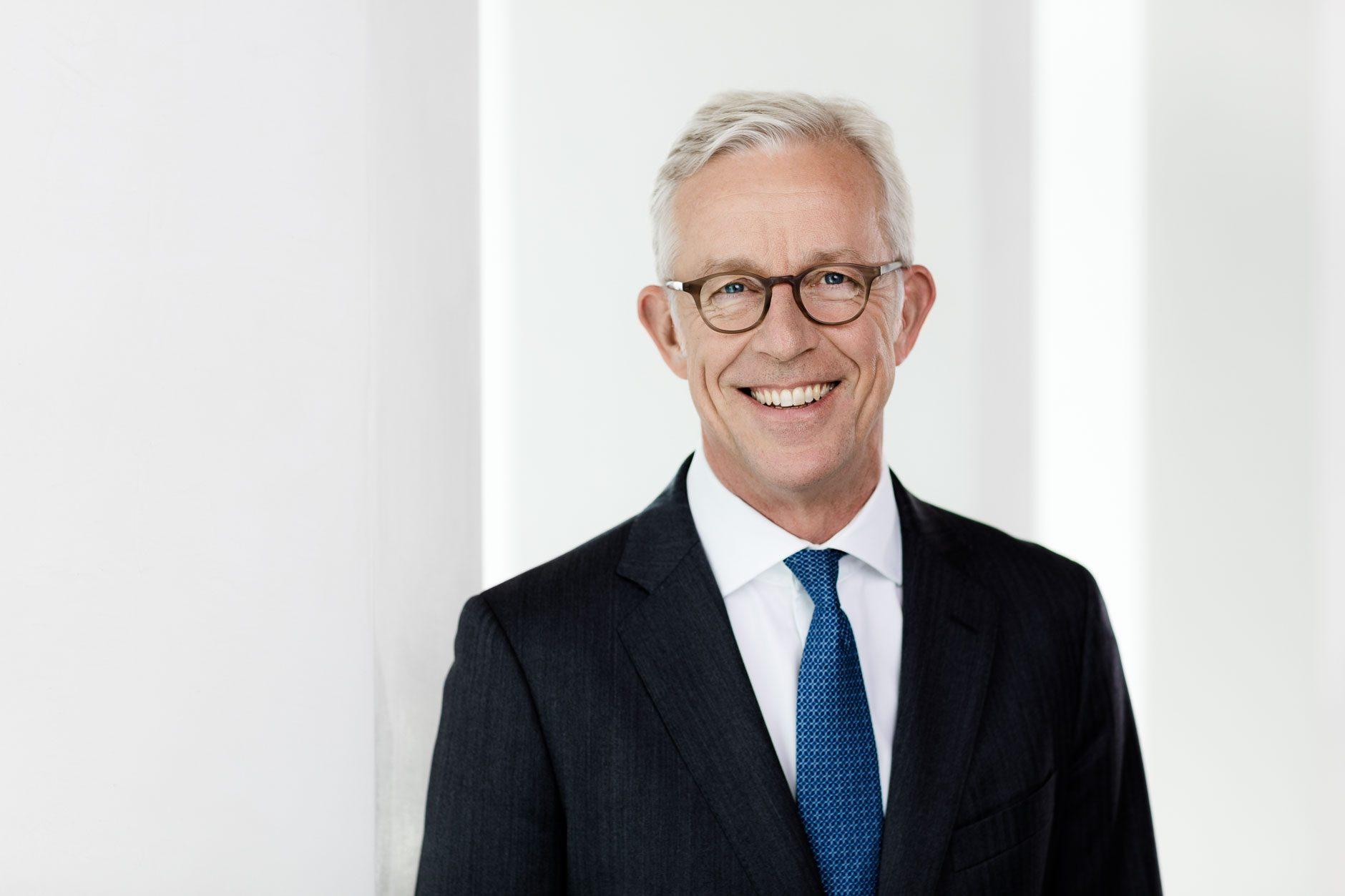 Businessporträt Karl von Rohr, Vorstand Deutsche Bank AG