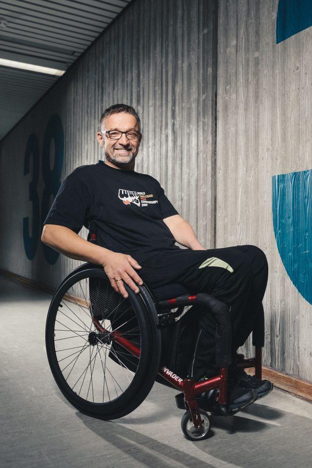 Jörg Holzem, Rollstuhlrugyspieler