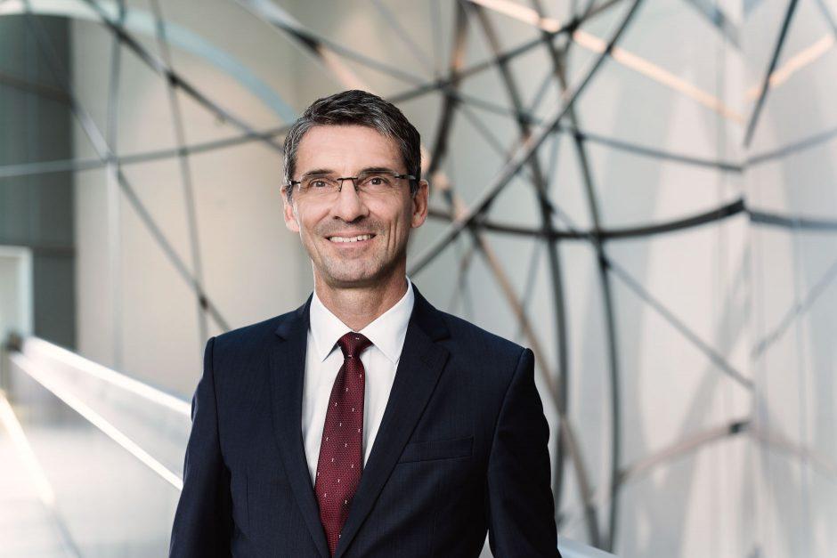 Porträts Bernd Leukert, Vorstand Deutsche Bank AG