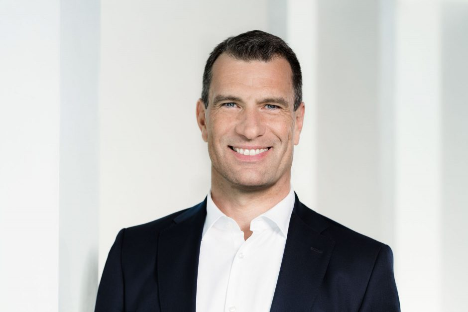 Porträts Michael Ilgner, Vorstand Deutsche Bank AG