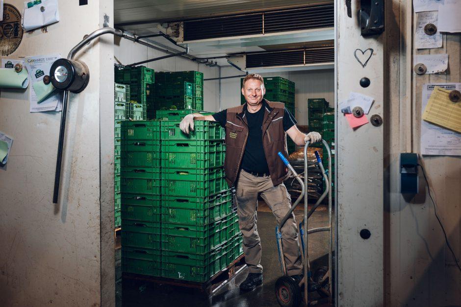 Mitarbeiterporträts Gemüsehof Reinheimer