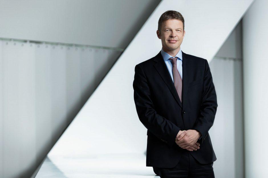 Porträts Christian Sewing, Vorstand Deutsche Bank AG